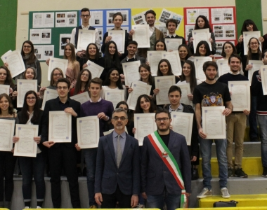 Cerimonia consegna diplomi LICEO (diplomati a.s. 2017/2018)