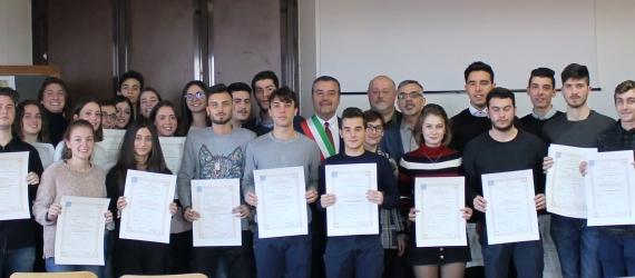 Cerimonia consegna diplomi ITET (diplomati a.s. 2017/2018)